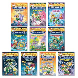 Geronimo Stilton: Spacemice Pack x 10