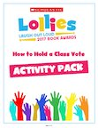 Lollies competition 2017 - how to hold a class vote. (16 pages)