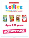 2017 Scholastic Lollies 9-13 years Activity Pack