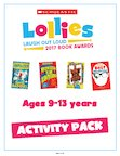 Scholastic Lollies Competition 2017 9-13 years Activity Pack (46 pages)