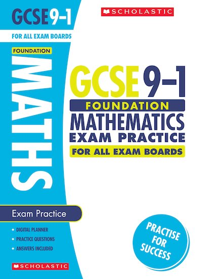 Foundation Maths Exam Practice Book for All Boards x10