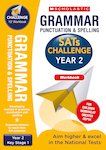 SATs Challenge: Grammar, Punctuation and Spelling Workbook (Year 2) x 10