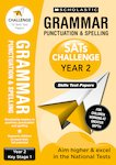 SATs Challenge: Grammar, Punctuation and Spelling Topic Assessment Book (Year 2) x 10