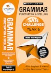 SATs Challenge: Grammar, Punctuation and Spelling Topic Assessment Book (Year 6) x 10