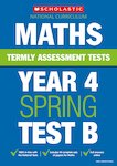Termly Assessment Tests: Year 4 Maths Test B x 30