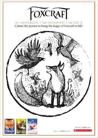 Foxcraft Colouring Sheet 03