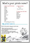 Eddy Stone and the Epic Holiday Mash-Up pirate name sheet (1 page)