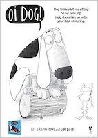 Oi dog colouring sheet activity 1659797