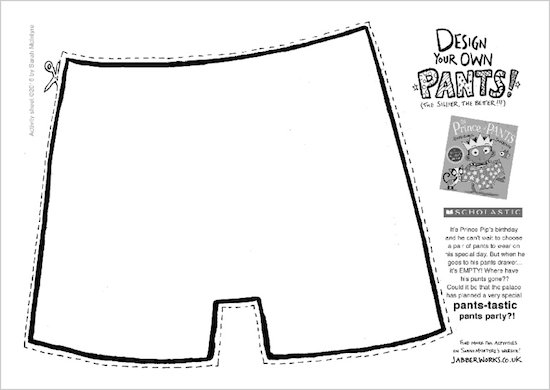 The Prince of Pants design your own pants