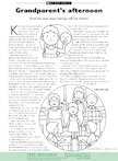 Grandparent's afternoon (1 page)