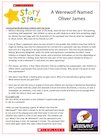 Story Stars resource – A werewolf named Oliver James