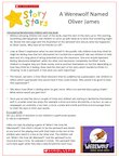 Story Stars Resource - A werewolf named Oliver James (4 pages)