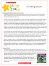 Story Stars resource – Ten flying brooms