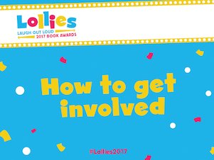 Get involved with the Lollies