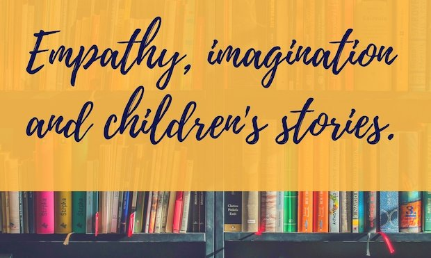 Empathy, imagination and children's stories banner
