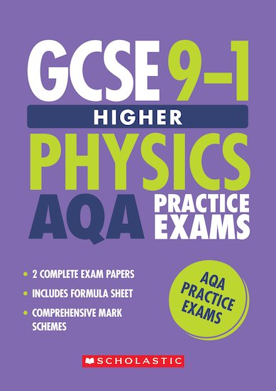 GCSE Grades 9-1: Higher Physics AQA Practice Exams (2 papers) x 30
