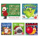 Funny Christmas Picture Book Pack x 5