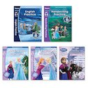 Disney Frozen Workbooks Ages 5-7 Pack x 5