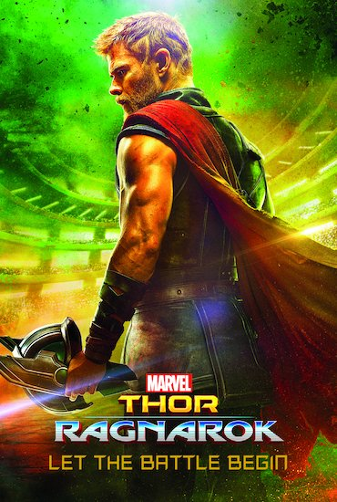 Marvel's Thor Ragnarok: Let the Battle Begin (Book of the Film)