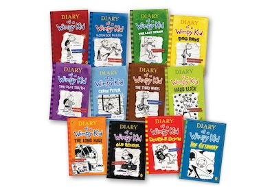 The Wimpy Kid series