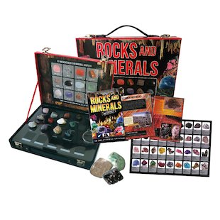 Rocks and Minerals Briefcase