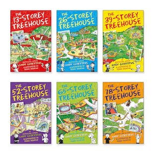 The 13-Storey Treehouse Pack x 6