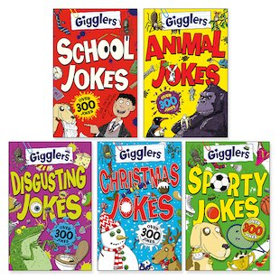 Gigglers Joke Book Pack x 5