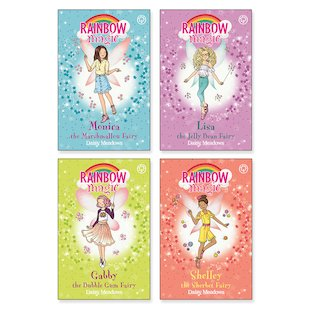 Rainbow Magic: The Candy Land Fairies Pack x 4