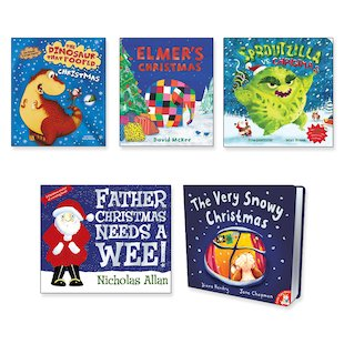 Christmas Board Book Pack x 5