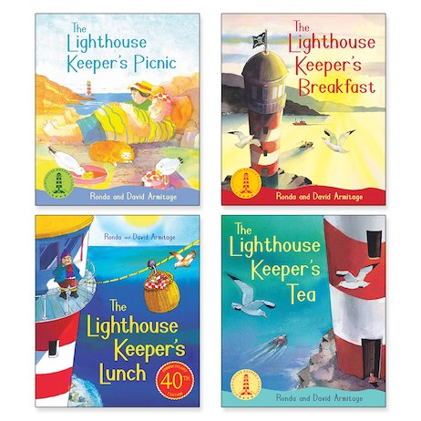 The Lighthouse Keeper Pack x 4