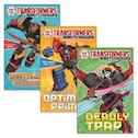 Transformers Fiction Pack x 3