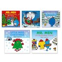 Mr Men Christmas Pack x 5