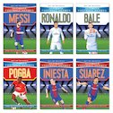 Ultimate Football Heroes Pack x 6