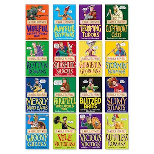 Horrible Histories Pack x 16 (Classic Editions)