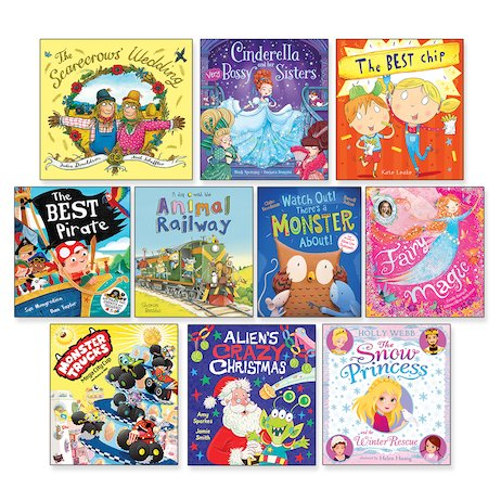 Amazing Value Christmas Picture Book Pack x 10 (Ages 2-6)