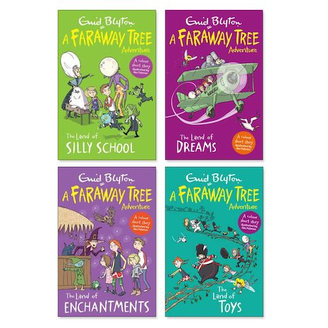 The Faraway Tree Colour Reads Pack x 4