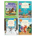 Julia Donaldson and Axel Scheffler Sticker Activity Pack x 4