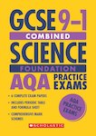GCSE Grades 9-1: Foundation Combined Science AQA Practice Exams (6 papers) x 10