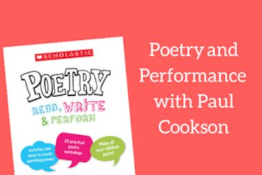 Poetry and Performance with Paul Cookson