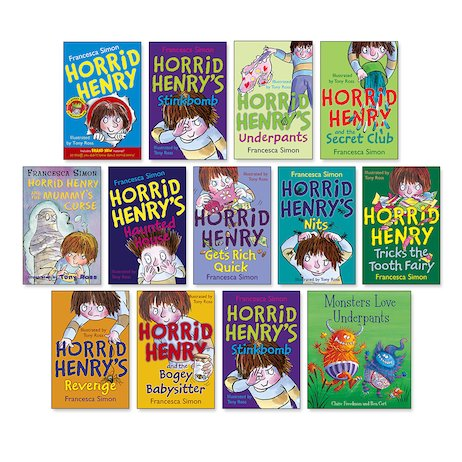 Horrid Henry Pack A x 11