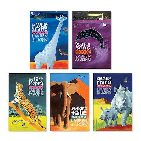 25408737 Lauren St John White Giraffe Pack x 5 - Scholastic Shop