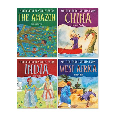 Multicultural Stories from Around the World Pack x 4