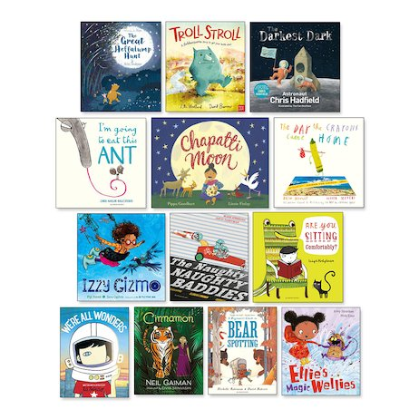 New Titles Ages 3-7 Pack x 13