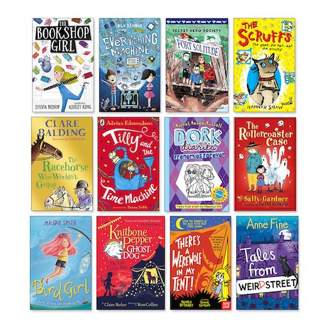 New Titles Ages 7-9 Pack x 12
