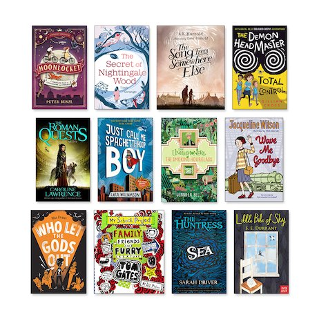 New Titles Ages 9-11 Pack x 12