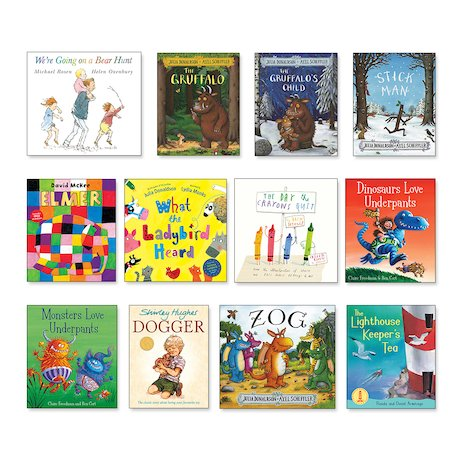 Top 100 Children's Books for Teachers Nursery-Year 6 Pack x 100