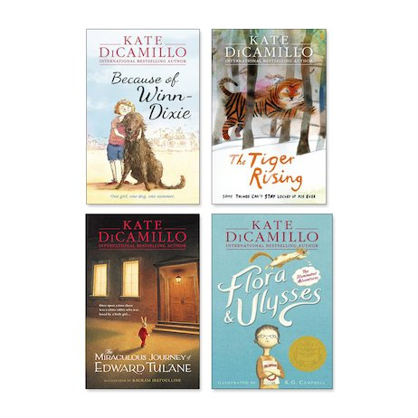 Kate DiCamillo Pack x 4