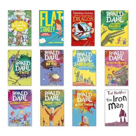 Top 100 Children's Books for Teachers Years 3-4 Pack x 27