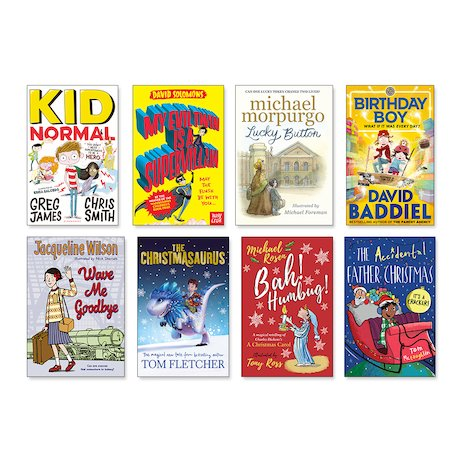 Reading for Pleasure Ages 9-13 Pack x 8