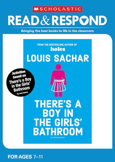 theres a boy in the girls bathroom enlarge cover - Theres A Boy In The Girls Bathroom